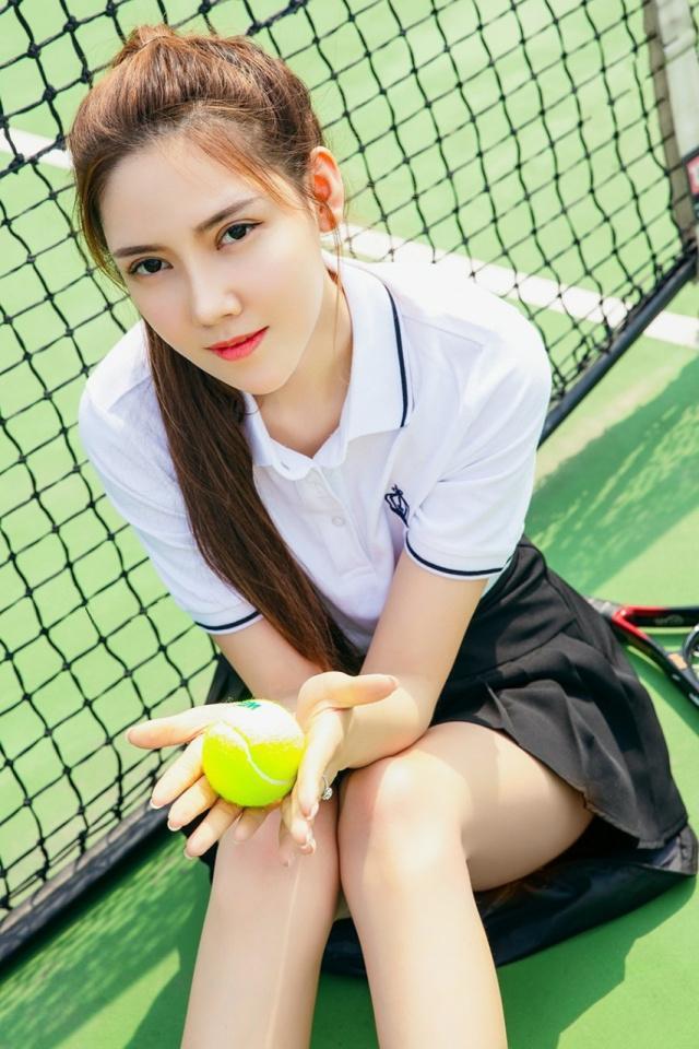 运动系网球美少女莎伦